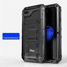 iPhone7 iphone7plus アルミケース メタル 耐衝撃 iphone7 iPhone7 Plus ケース 完全防水 水中使用 iphone7/7plus ケース アルミバンパーケース お洒落 かっこいい (iphone7 ブラック)