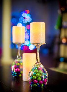 En paraíso San José te vamos a dar unos tips básicos para elaborar sencillos centros de mesa y decorar la mesas en tu posada. Con jarrones… Que tal este sencillo ...