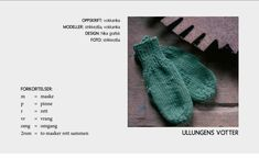 Gratis oppskrift på barnehagevotter — Strikkezilla Design Knitting For Kids, Baby Knitting Patterns, Big Knits, Arm Warmers, Mittens, Ravelry, Knit Crochet, Diy And Crafts, Quilts