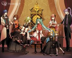 Bad∞End∞Night -- I'd love to see this in a Project Diva game!