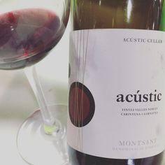 Acústic 2014 (Garnatxa Montsant) #vino #tinto #garnacha #garnatxa #montsant #videocata #uvinum #fenavin #fenavin2017 @acusticceller  @domontsant