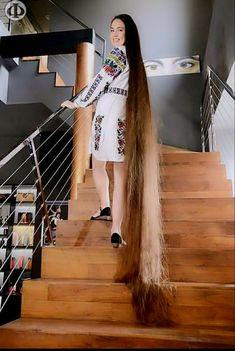 Stunning..... Long Hair.