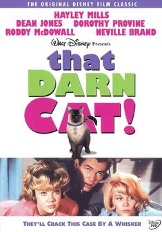 Shop That Darn Cat! [DVD] at Best Buy. Find low everyday prices and buy online for delivery or in-store pick-up. Comedy Movies For Kids, Movies To Watch Comedy, Movie To Watch List, Kid Movies, Family Movies, Funny Movies, Neville Brand, Cat Movie, Cat Fountain