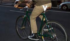 Khaki Bike to Work Pants