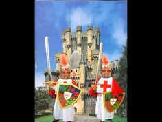 YouTube Castle Crafts, Knights, Kids, Painting, Youtube, Princess Castle, Medieval Castle, Saint George, King Cakes
