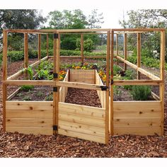 You'll love the Rectangular Raised Cedar Garden Bed at Wayfair - Great Deals on all Outdoor  products with Free Shipping on most stuff, even the big stuff.
