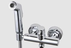 Free Shipping Solid Brass Chrome Handheld Bidet ,Toilet Portable Bidet Shower Set With Hot and Cold Water Bidet Mixer #shoes, #jewelry, #women, #men, #hats