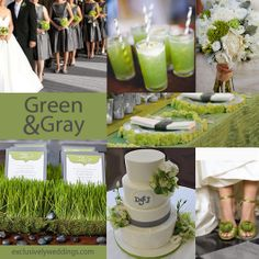Gray Wedding Color -The New Neutral | Exclusively Weddings Blog | Wedding Planning Tips and More