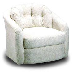 Best Home Furnishings Chairs   Swivel Barrel Sanya Swivel Barrel Chair    2468