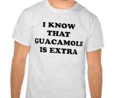 26 Extremely Honest Tee Shirts For People Who Just Really Love Food