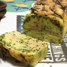 ズッキーニとベーコンの【ガトーインビジブル】レシピ! #朝食 #前菜