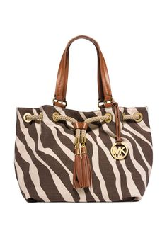 1bbed43c114d8 MK zebra prints jet set Like new condition Michael Kors Bags Shoulder Bags