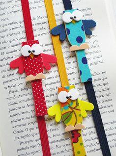 Achei esses marcadores fofos lá no Pragentemiuda Lindo pra lembrancinhas!!!!