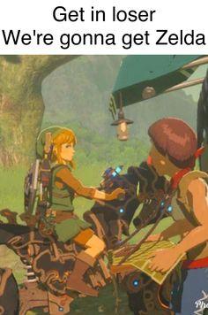 Legend of Zelda + Mean Girls = Hilarious