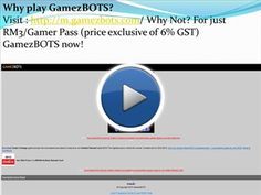 http://m.gamezbots.com/ GamezBots is only available to Maxis/Hotlink users. To enjoy GamezBots, kindly ensure that you are using GPRS WAP or 3G WAP settings.