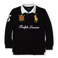 Big Pony Cotton Rugby - Boys 8-20 Polo Shirts - RalphLauren.com
