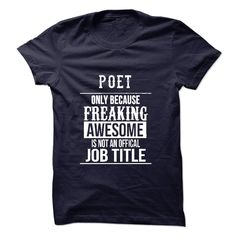 (Tshirt Popular) Poet T-Shirt [Tshirt Sunfrog] Hoodies, Tee Shirts
