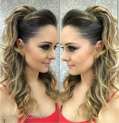 Terrific Super Gorgeous Homecoming Long Hairstyles 2018 The post Super Gorgeous Homecoming Long Hairstyles appeared first on Fashion unbelievable long curly wedding hairstyles to look spectacular on your big day LOVEEE this for when cruze an Party Hairstyles, Trendy Hairstyles, Wedding Hairstyles, Hairstyles 2018, Homecoming Hairstyles, Gorgeous Hairstyles, Curly Wedding Hair, Halloween Hair, Halloween Makeup