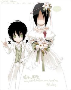 Nabari No Ou gender bender | YOITE-CHAN ^^ - well.... they are miharu and yoite ,from nabari no ou ...