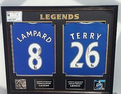 * rare john terry and frank lampard of chelsea signed #shirt #autograph #display , View more on the LINK: http://www.zeppy.io/product/gb/2/252335576556/