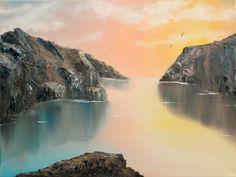 Just Listen 18x24 Original oil painting  by ChristieMinalgaArt