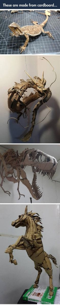 Incredible Cardboard Creatures