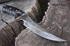 "Fallen Oak Forge | ""Valkyrie's Kiss"", survival, defense or tactical ring blade"