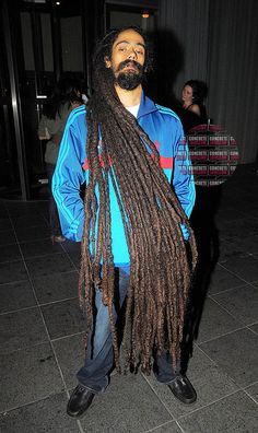 Damian Marley's dreads... I can't even imagine how heavy they are!