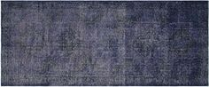 Turkish Overdyed Purple Gallery Runner 5x13 by RugzyRugs on Etsy