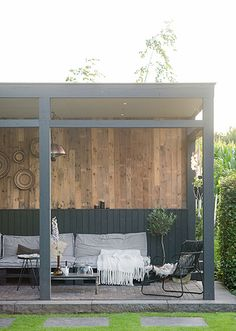 Top Tips, Tricks, And Methods For Your Perfect patio design Outdoor Seating Areas, Outdoor Spaces, Outdoor Living, Outdoor Patios, Patio Gazebo, Backyard, Patio Design, Garden Design, Garden Canopy
