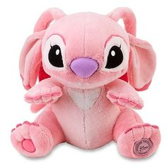Disney Store Lilo and Stitch Angel stuffed Plush Doll Alien New Disney Stitch, Lilo And Stitch, Disney Stuffed Animals, Cute Stuffed Animals, Disney Plush, Disney Toys, Peluche Stitch, Pijamas Onesie, Stitch And Angel
