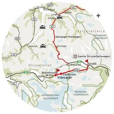 Gamlel-Strynefjellsvegen National Tourist Route is only 27km. The mountain road itself is an engineering marvel of the late 19th century