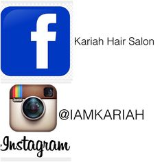 Don't just follow us on Instagram Follow us on Facebook too!  by iamkariah