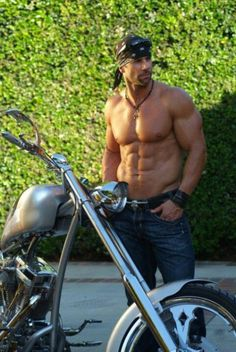 Good looking bikers