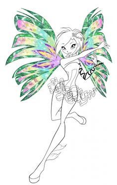 Find This Pin And More On Winx By Marjolaine Grange See Club Trix Witch Coloring Pages