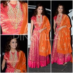 Yay or Nay : Dia Mirza in Anita Dongre Dia Mirza, Anita Dongre, Indian Dresses, Indian Outfits, Eid Outfits, Eid Dresses, Casual Dresses, Indian Designer Outfits, Designer Dresses