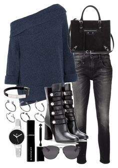 """""""Untitled #19022"""" by florencia95 ❤ liked on Polyvore featuring R13, Donna Karan, Isabel Marant, ASOS, Cartier, Balenciaga, Givenchy, Christian Van Sant and Christian Dior"""