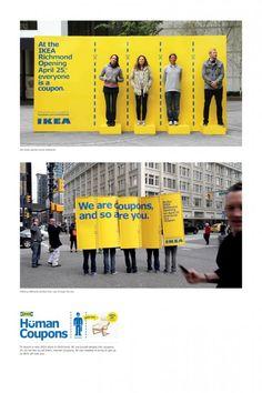 "Ikea ""Human Coupons"" by Leo Burnett Toronto"