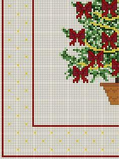 Buon Natale con alberello fiocchi rossi (3)