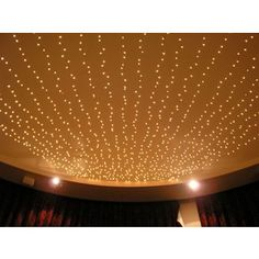 How To String Christmas Lights On Ceiling : 1000+ images about Ceiling covers on Pinterest Ceilings, Basement ceilings and Icicle lights