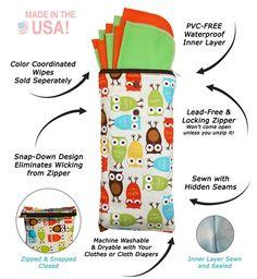 Planetwise Wipe Pouch - Tasche für Kosmetiktücher