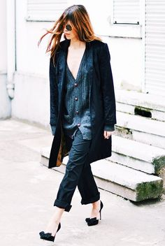 Important Question: Can Cardigans Actually Be Sexy? via @WhoWhatWear
