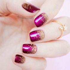 Still trying to figure this out. Is it loose glitter w clear polish over it? Or glitter polish