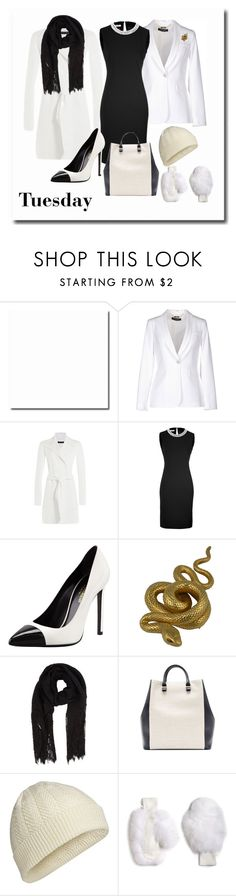 """""""Set #1306 - Tuesday at the Office"""" by the-walking-doctor ❤ liked on Polyvore featuring GUESS by Marciano, Ralph Lauren Black Label, Moschino, Yves Saint Laurent, Valentino, Victoria Beckham, Icebreaker, GLAMOURPUSS, women's clothing and women's fashion"""