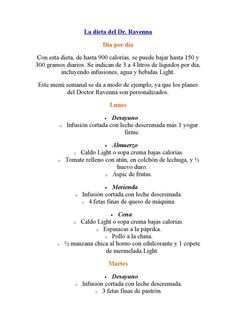 La dieta del doctor Ravenna by Fernando Tec - issuu
