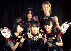 BABYMETAL & Guns N' Roses