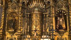 la iglesia del altar de oro en panama city panama   ALTAR DE ORO-IGLESIA SAN JOSE, PANAMA. - YouTube