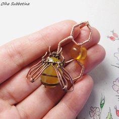 """""""Wire Work"""" Olha Subbotina/ Украшения на заказ #handmadejewelry"""