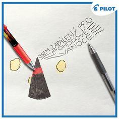 František ví, jak si užít Vánoce! :) Užijte si je i vy s pery Pilot <3 #happywriting #VánoceJsouTu