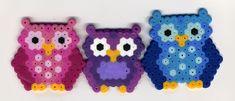 perler bead owls
